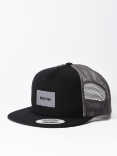 NIXON kšiltovka TEAM BLACKCHARCOAL