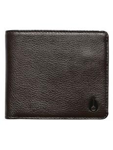 NIXON peněženka CAPE LEATHER COIN BROWN