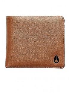 NIXON peněženka CAPE LEATHER COIN SADDLE