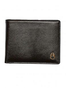 NIXON peněženka PASS LEATHER COIN BROWN