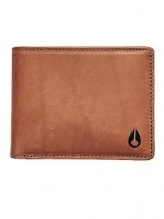 NIXON peněženka PASS LEATHER COIN SADDLE