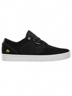 EMERICA boty FIGGY DOSE BLACK/WHITE/GOLD