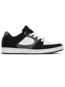 ÉS boty ACCEL SLIM BLACK/GREY/WHITE
