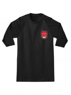 SPITFIRE tričko LIL BIGHEAD FILL BK/BK/RD