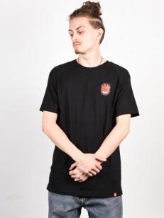 SPITFIRE tričko LIL BIGHEAD FILL BLK/RED