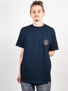 SPITFIRE tričko BIGHEAD CLASSIC NVY/RD