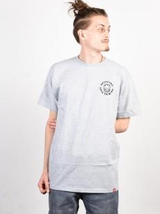 SPITFIRE tričko BIGHEAD LTB ATH.HTHR/BLK