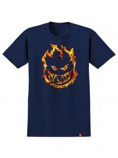 SPITFIRE tričko 451 NVY/RED