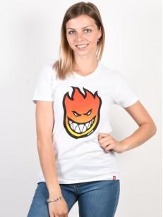 SPITFIRE tričko BIGHEAD FILL GRADIENT WT/RED
