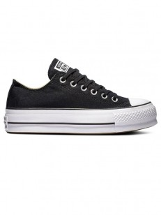 CONVERSE boty CHUCK TAYLOR ALL STAR LIFT Black/Whi