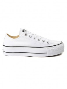 CONVERSE boty CHUCK TAYLOR ALL STAR LIFT White/Bla