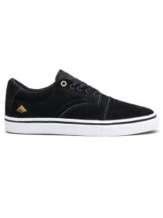 EMERICA boty PROVIDER BLACK/WHITE/GOLD
