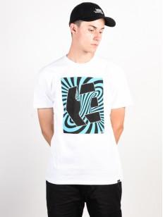ETNIES tričko HYPNOTYSE WHITE