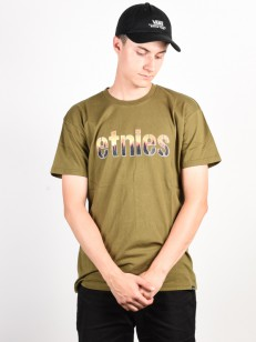 ETNIES tričko LANDSCAPE MILITARY