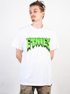 ETNIES tričko COMICS WHITE