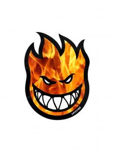 SPITFIRE samolepka BIGHEAD HELLFIRE BLU