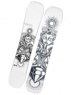 VIMANA snowboard MOTHERBRAIN - TESTOVACÍ SNB WHITE