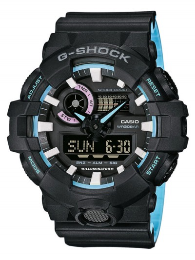 CASIO hodinky GA-700PC-1AER