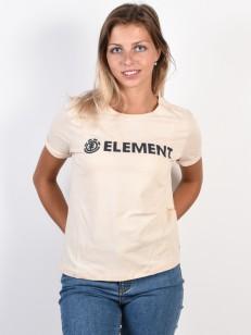 ELEMENT triko ELEMENT LOGO WHITE SMOKE