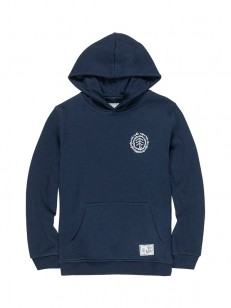 ELEMENT mikina TOO LATE LOGO ECLIPSE NAVY
