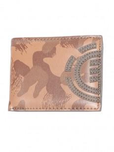 ELEMENT peňaženka DAILY BROWN CAMO