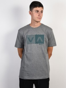 RVCA triko LOGO PACK ATHLETIC HEATHER