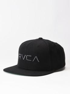 RVCA kšiltovka TWILL BLACK/CHARCOAL