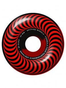 SPITFIRE kolieska F4 99 CLASSIC 50/50 SWIRL RED/BL