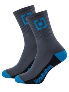 HORSEFEATHERS ponožky JAYDEN blue