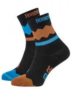 HORSEFEATHERS ponožky FIZZ blue