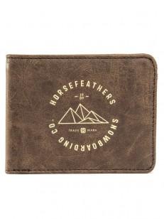 HORSEFEATHERS peňaženka COLBERT brown