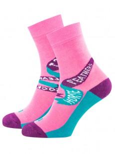 HORSEFEATHERS ponožky LAST peach