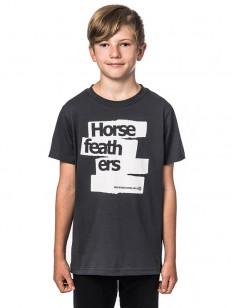 HORSEFEATHERS triko BRUSH graphite