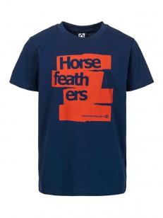 HORSEFEATHERS triko BRUSH indigo