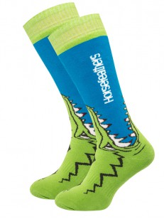 HORSEFEATHERS ponožky CROC blue