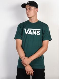 VANS triko CLASSIC VANS TREKKING GREEN