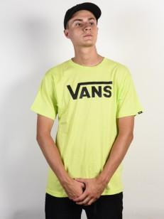 VANS triko CLASSIC SHARP GREEN/BLACK