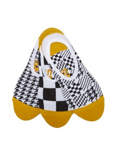 VANS ponožky HOUNDSTOOTH CHECK CANOODLES Multi