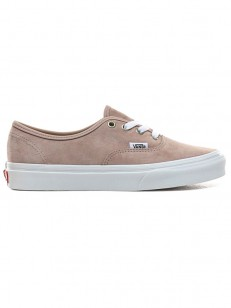 VANS boty AUTHENTIC (PIG SUEDE)SHDW GRY/TRWHT