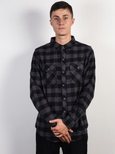 BILLABONG košile ALL DAY FLANNEL BLACK