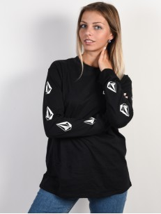 VOLCOM triko SIMPLY STONED Black