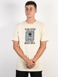 VOLCOM triko HYPNO SKULL White Flash