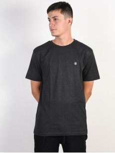 VOLCOM triko CIRCLE STONE Heather Black