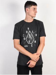 VOLCOM triko EYECHART Heather Black