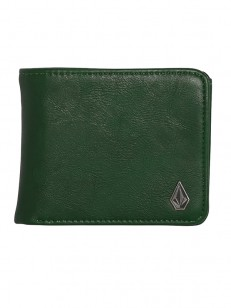 VOLCOM peněženka SLIM STONE Evergreen