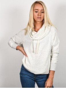 RIP CURL mikina COSY WHITE MARLE