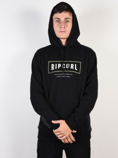 RIP CURL mikina STRETCHED OUT BLACK