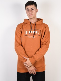 RIP CURL mikina STRETCHED OUT BURNT ORANGE