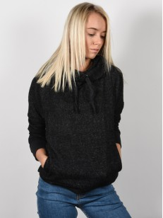 RIP CURL mikina COSY BLACK MARLED