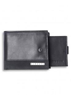RIP CURL peňaženka MISSION CLIP RFID 2 IN 1 BLACK
